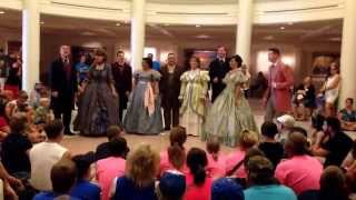 """Voices of Liberty singing """"Yankee Doodle Dandy"""" at Walt Disney World"""