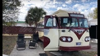 1963 Flxible Starliner Vintage High-Tech Bus Conversion Tour - The Creative Cruiser