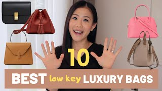 10 Best Low Key Luxury Handbags| Designer Bags Worth Buying| Loewe, Hermes, Louis Vuitton|