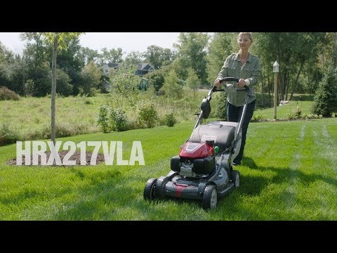 Honda Power Equipment HRX217VLA GCV200 Self Propelled in Chattanooga, Tennessee - Video 1