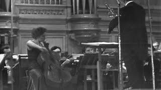 Авторский вечер Арама Хачатуряна (БЗК, 1975): Наталия Шаховская (виолончель), А. Хачатурян (дирижёр)