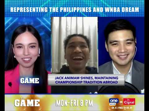 Jack Animam on representing the PH, WNBA dream