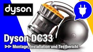 TEST: dyson DC33c Orgin und dyson DC37c Allergy - Beutelloser-Staubsauger
