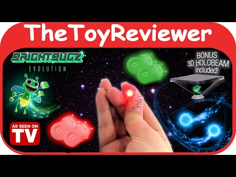 Bright Bugz Evolution Magic Lights Red And Green 3D Holobeam Unboxing Toy Review By TheToyReviewer Mp3