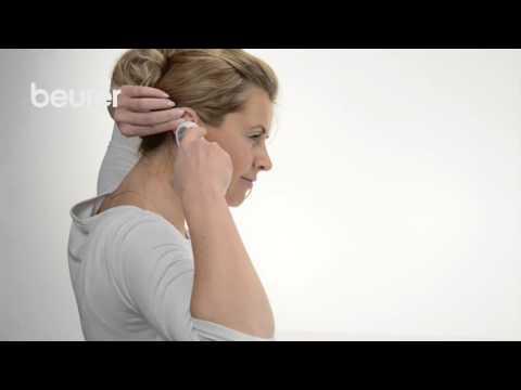 Quick Start Video sul termometro per orecchio FT 58 di Beurer.