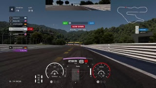 Gran Turismo sport daily race Gr3 in Dragon Trail gardens top 10 pad player over 80 victorys