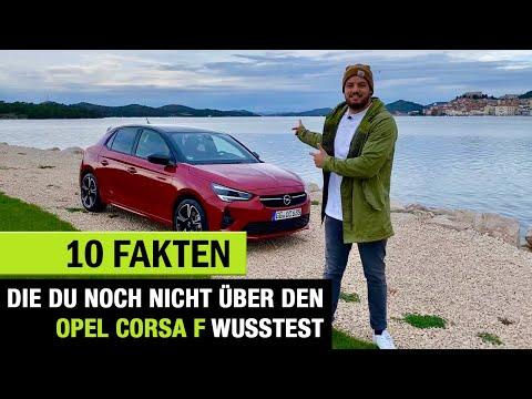 10 Fakten, die DU noch NICHT über den (2020) Opel Corsa F wusstest ❗️Review | Test | Details | Infos
