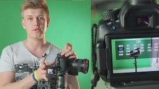 Основы видео для фотографов 1. Настройки фотоаппарата для видеосъёмки