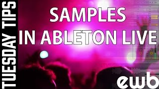 Samples in Ableton LIVE - EastWest Beats - Tuesday TIPS
