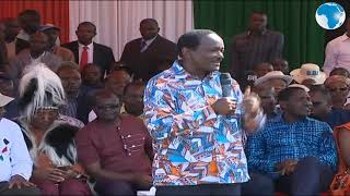 Kalonzo says that South Sudan's peace deal is a result of BBI