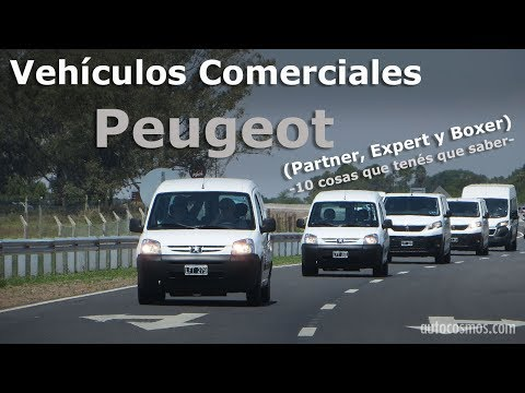 Vehiculos comerciales Peugeot