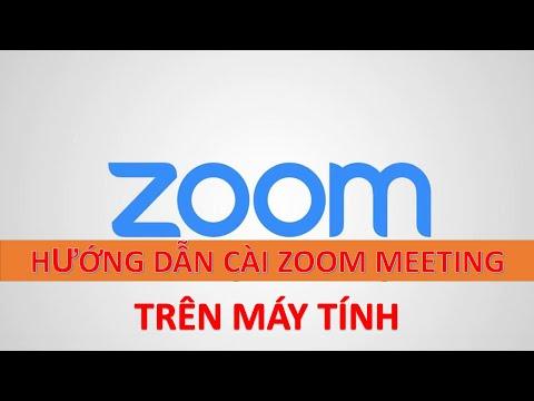 Hướng dẫn cài đặt và sử dụng Zoom Meeting trên máy tính - www.vinamos.vn
