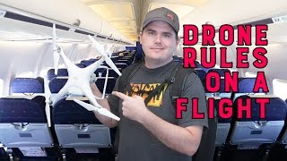 Traveling with a Drone: Don't Let a Security Check Delay Your Flight!