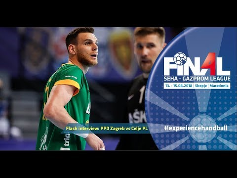 Final 4: Flash interview (PPD Zagreb vs Celje PL)