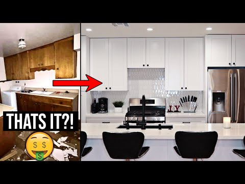 Cost of Kitchen Remodel | Tips to Save (before and after)