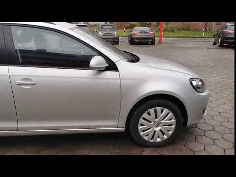 Video VW Golf VI Variant Trendline. Navi.1.Hand.1a Zust.