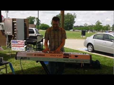 Contemporary Jazz Original by Keenan Baxter LIVE @ Portage Indiana Market