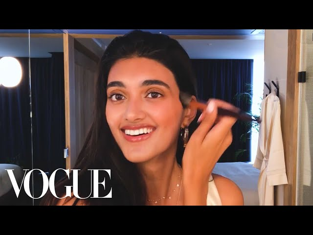 Model Neelam Gill's Guide to Off-Duty Beauty | Beauty Secrets | Vogue