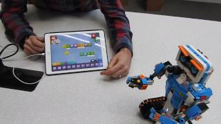 Demo of Lego Boost robot toy