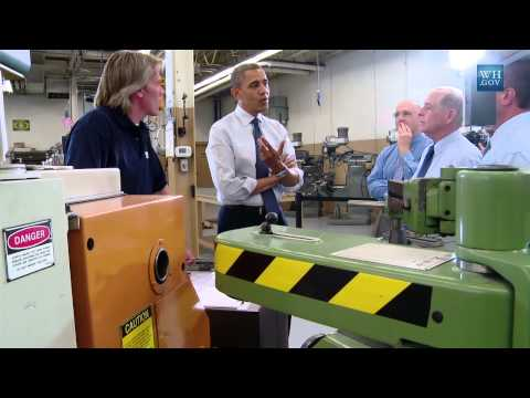 President Obama Speaks on the Economy in Knox College