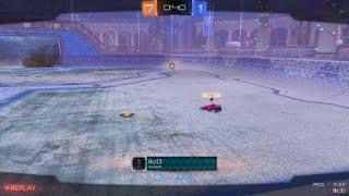 Rocket League® spinning goal