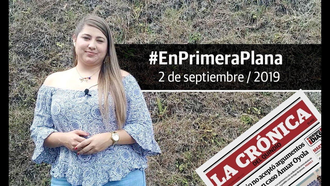 En Primera Plana: lo que será noticia este sábado 31 de agosto