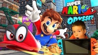 Super Mario Odyssey Первый Взгляд - Супер Марио Одиссея Прохождение - Кока Плей Nintendo Switch