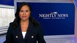 Nightly News Full Broadcast - October 3rd