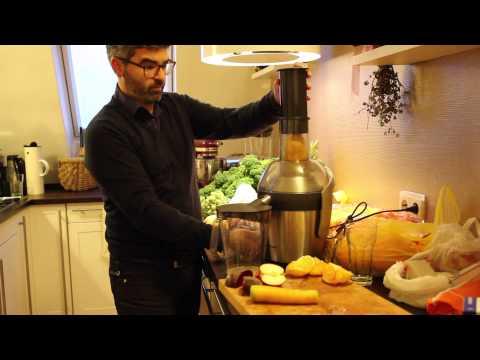 Philipps Entsafter HR 1871 Test Rote Beete / Apfel / Karotte Saft
