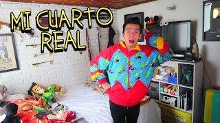 Room Tour de mi Cuarto Real y Muestro mi Closet de Ropa y Disfraces - VLOG #68