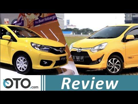 Honda Brio 2018 vs Toyota Agya | Review | Pilih Yang Mana? | OTO.com