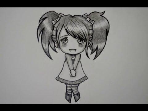 Dibujos De Anime A Lapiz Faciles De Hacer Imagui