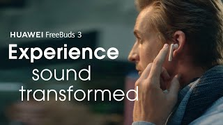 YouTube Video mgDRIfAi9ig for Product Huawei FreeBuds 3 Headphones by Company Huawei Technologies in Industry Headphones