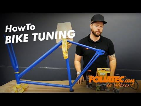 FOLIATEC.com Bike Tutorial - Pin Striping, Interior Color Spray, Sprüh Folie
