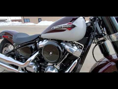 2021 Harley-Davidson Softail Slim® in Ames, Iowa - Video 1