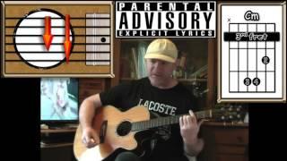 Creep - Radiohead - Acoustic Guitar Lesson (Explicit Lyrics)