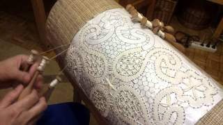 Making Bobbin Lace - Learned In Bobowa.