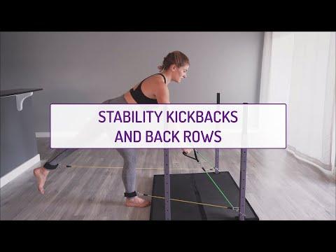 Stability Kickbacks and Back Rows