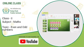 Class – II | Even And Odd Numbers | Maths For Kids | Easy To Learn | Ruby Park Public School Thumbnail