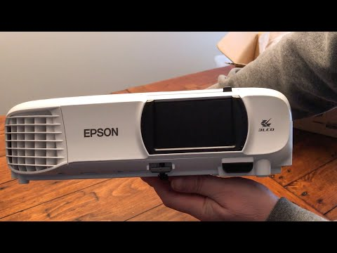 Epson HC1060 Home Theatre Projector Blogger Review