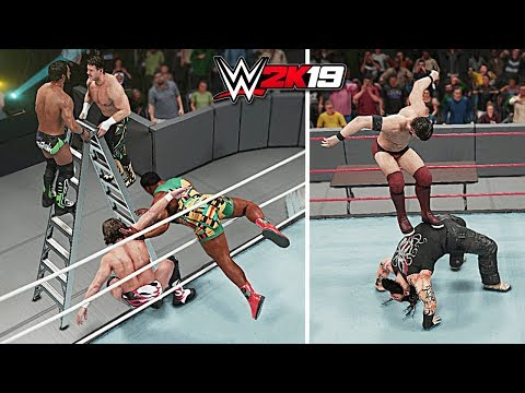 WWE 2K19 Top 10 Awesome Moments vs Epic Fails!! Part 4