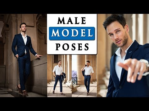 , title : 'MALE MODEL POSES FOR PHOTOGRAPHY   how to pose with a SUIT
