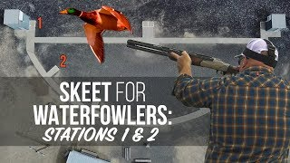 Skeet Shooting For The Waterfowler Part I