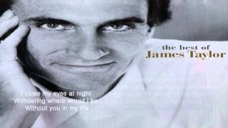 How Sweet It Is (To Be Loved By You) - James Taylor - Lyrics / HD