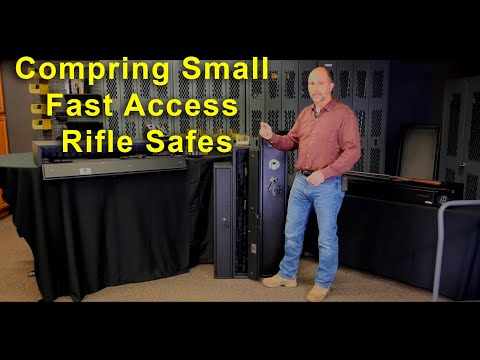 Compare Hidden & Fast Access Gun safes: What's the best choice?