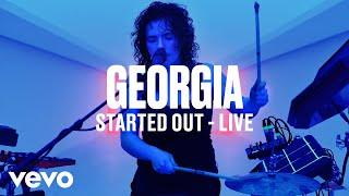 Georgia   Started Out (Live)   Vevo DSCVR