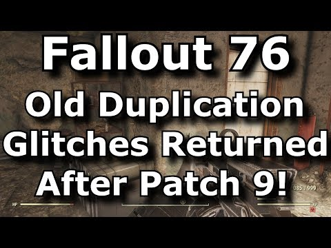 Fallout 76 Old Duplication Glitches Worked Again After Patch 9! What