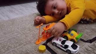 Evde Otoban Yaptık, Araba Sürdük, Eğlenceli çocuk Videosu