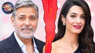 George & Amal Clooney Getting A Divorce?