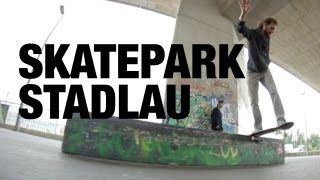 preview picture of video 'Skatepark Stadlau - Shaky Footy - Skateboarding Vienna'